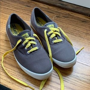 Keds Champion Ox Graphite Canvas Sneakers WF35186M